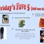 Friday's Fave 5… and One Flop