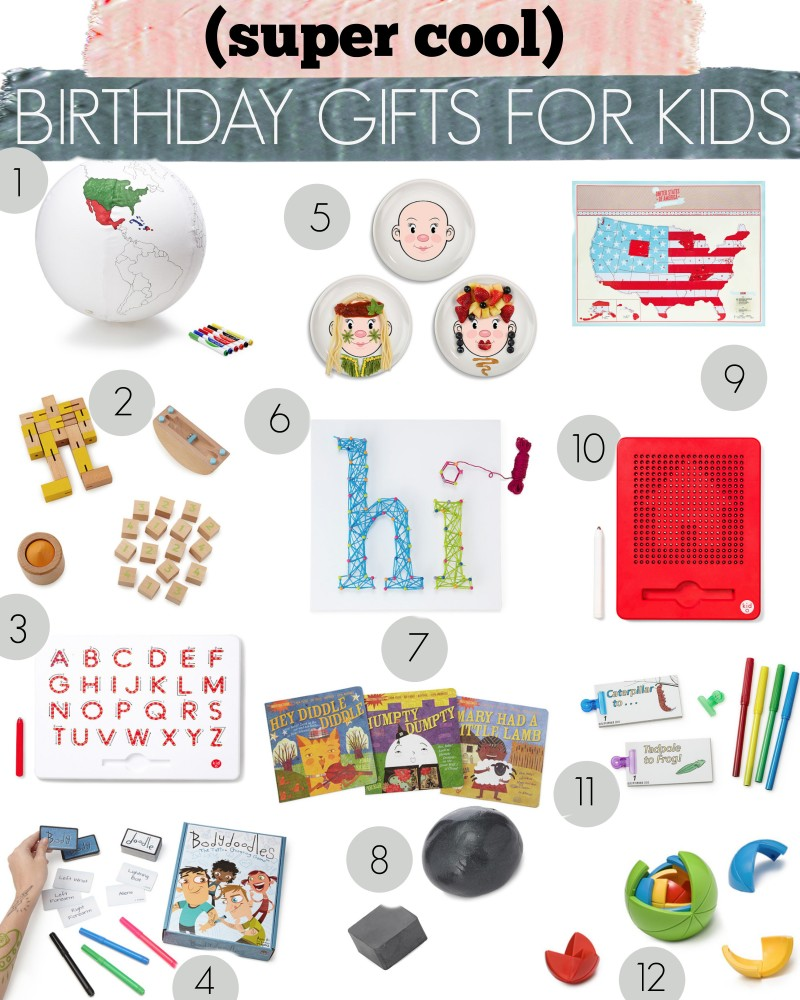 Super Cool Birthday Gifts For Kids