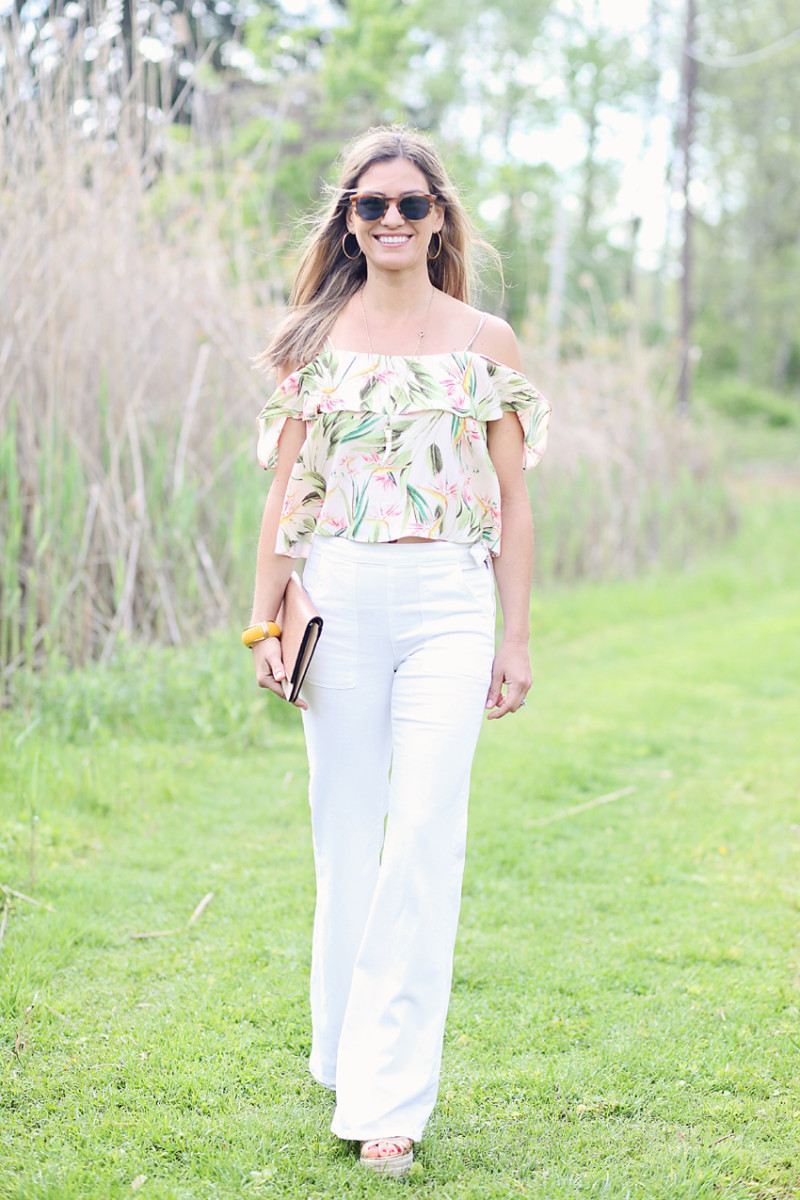 summer style happy hour outfit